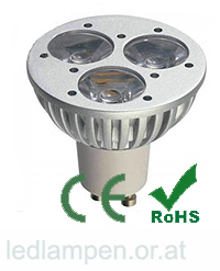 LED Büro KMI-PAR-3, 3 Watt