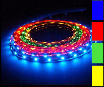 LED Stripes Set, RGB, 14 Watt/Lfm